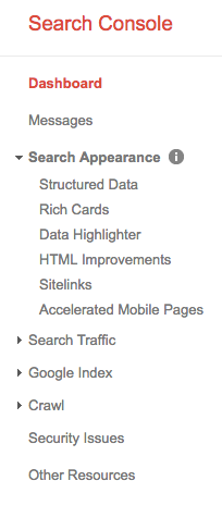 Search Appearence